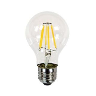 Newhouse Lighting 40W Equivalent Incandescent A19 Dimmable LED Filament Light Bulb LEDEBD A19
