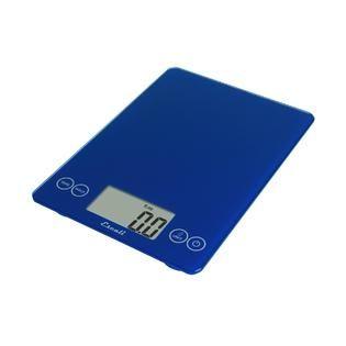 Escali Arti Glass Digital Scale, 15 Lb / 7 Kg, Electric Blue   Home