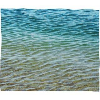 DENY Designs Shannon Clark Ombre Sea Throw Blanket
