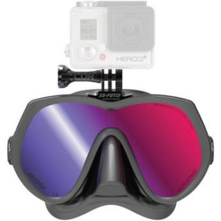 XS Foto GoMask Ironmann for GoPro (Black Silicone) MA610RM