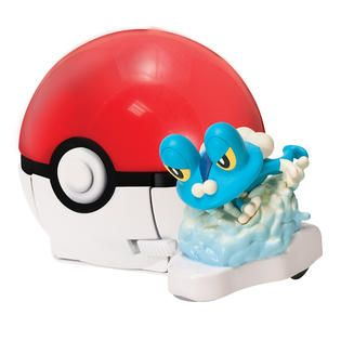Tomy Pokémon Quick Attackers Froakie   Toys & Games   Action Figures