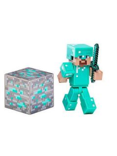 Hasbro Minecraft diamond steve action figure
