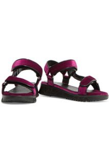 Alida metallic velvet sandals  Sandro