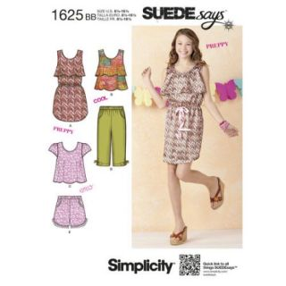Simplicity Girls' and Girls' Plus Separates SUEDEsays Collection (8 1/2   16 1/2)