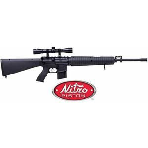 Crosman MSR77 .177 Caliber Air Rifle with Target System Value Bundle