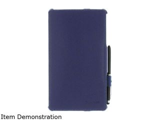 roocase Navy Blue Slim Fit Folio Case Cover with Stylus for Google Nexus 7 FHD /RC NEXUS7 FHD SF NV