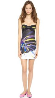 Versace Printed Short Sexy Dress