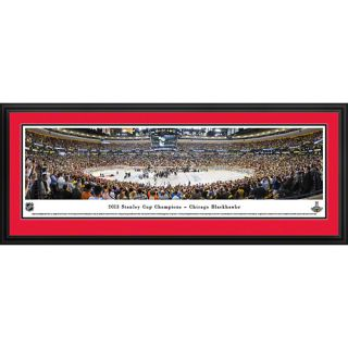 NHL 2013 Stanley Cup Champions   Chicago Blackhawks Deluxe Framed