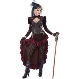 Adult Victorian Steampunk Sexy Costume   Size M