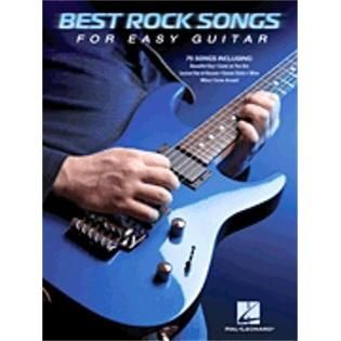 Hal Leonard Hal Leonard Best Rock Songs for Easy Guitar   TVs