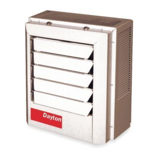 DAYTON Electric Unit Heater, Vertical or Horizontal, Voltage 480, 7.5 kW, 3 Phase   Electric Unit Heaters   2YU67|2YU67