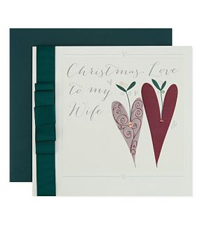 BELLY BUTTON   Christmas Love To My Wife card