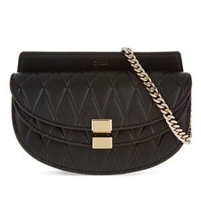 CHLOE   Georgia quilted leather belt bag