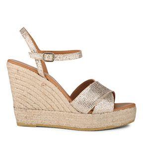 KURT GEIGER LONDON   Amerie wedge sandals