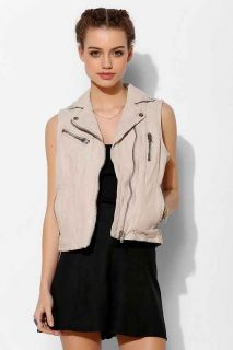 KC By Kill City Leather Moto Vest
