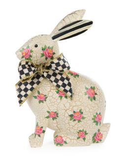 MacKenzie Childs Rosie Rabbit Figure