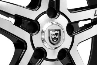 Lexani Wheels LX15 Machine Back Rims   Best Price on Lexani Rims LX 15 Machined Black Wheels   22 & 20 Inch Rims
