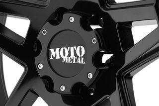 "Moto Metal MO96029087312N   8 x 170mm Bolt Pattern Black 20"" x 9"" MO960 Gloss Black Machined Wheels   Alloy Wheels & Rims"