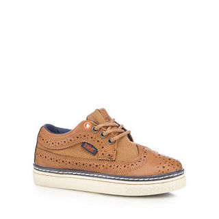 Baker by Ted Baker Boys tan brogue shoes