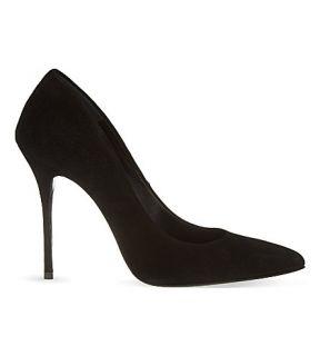 KURT GEIGER LONDON   Ellen suede court shoes