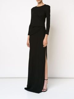 Givenchy Slit Gathered Gown   Kirna Zabête