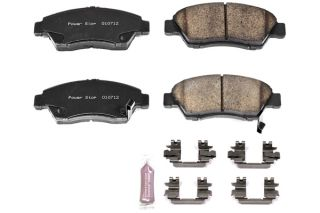 2007, 2008 Honda Fit Brake Pads   Power Stop Z23 621   Power Stop Z23 Evolution Brake Pads