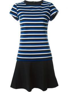 Michael Michael Kors Striped T shirt Dress   Benesch