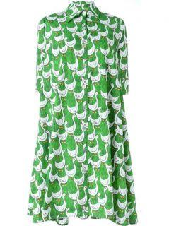 Ultràchic Goose Print Shirt Dress   Etre   Vestire