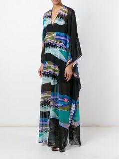 Msgm Printed Tunic Long Dress   Paola