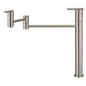 Danze D206558SS Bathroom Faucet, Parma Deck Mount Pot Filler   Stainless Steel