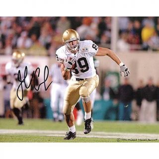 Steiner Sports John Carlson Running Down Field Autographed 8 x 10 Photograph   6189921