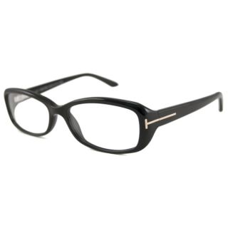 Tom Ford Womens TF5213 Rectangular Reading Glasses Black +1.25 (As Is