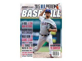 2015 Athlon Sports MLB Baseball Preview Magazine  Texas Rangers/Houston Astros Cover