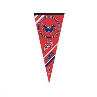 "NHL Team Logo 17"" x 40"" Premium Pennant   Washington Capitals   7800119"