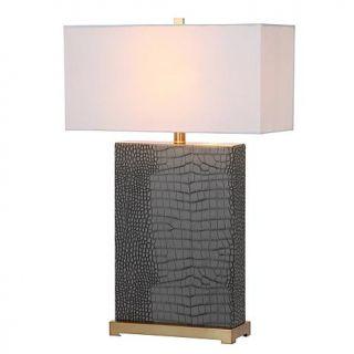 Safavieh Set of 2 Joyce Faux Alligator Table Lamps   8148459
