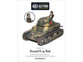 Warlord Games BFI101 Bolt Action   Renault R 35 Tank