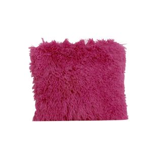 Hottsie Dottsie Hot Pink Fur Decor Pillow   18462113