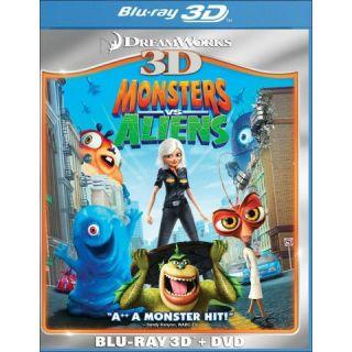 Monsters vs. Aliens 3D [2 Discs] [3D] [Blu ray/DVD]