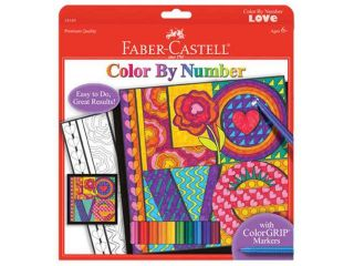 Faber Castell Color By Number Love FBCY4549 FABER CASTELL