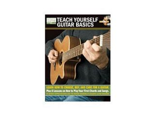 Hal Leonard Teach Yourself Guitar Basics TAB (Book and CD)
