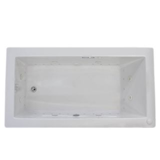 Guadalupe Dream Suite 66 x 36 Rectangular Air & Whirlpool Jetted