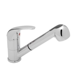 Blanco Torino Jr. Single Handle Deck Mounted Kitchen Faucet with Pull