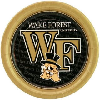 Wake Forest Demon Deacons 8 Pack Paper Plates