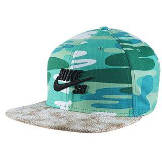 Nike SB Pro Snapback Cap   Mens   Casual   Accessories   Ale Brown/Black/Pine Green