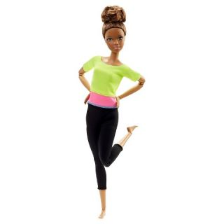 Barbie Made to Move Doll – Yellow Top