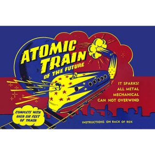 Atomic Train of the Future Vintage Advertisement by Buyenlarge