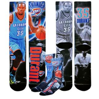 For Bare Feet NBA Sublimated Player Socks   Mens   Basketball   Accessories   Oklahoma City Thunder   Durant, Kevin   Multi