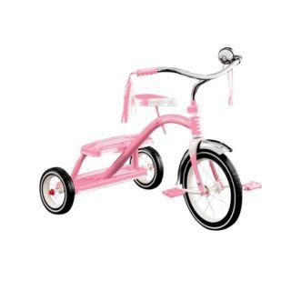 Radio Flyer® Classic Pink Dual Deck Trike (33P)   Bikes & Wagons