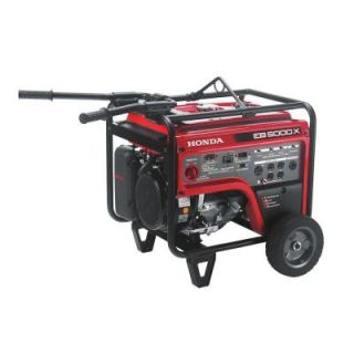 Honda 5,000 Watt Gasoline Portable Generator with GFCI Outlet Protection and iGX OHV Commercial Engine EB5000XK31