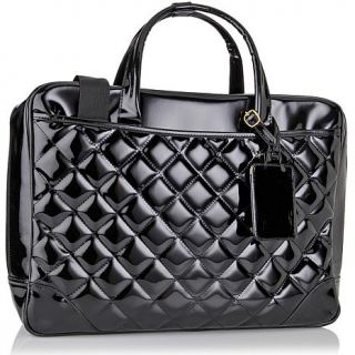 Quilted Patent Fashion Electronics Case   6761655